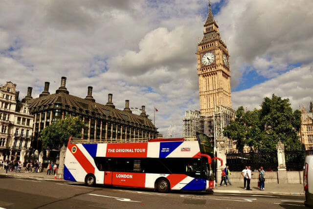 London Pass avec bus hop-on hop-off