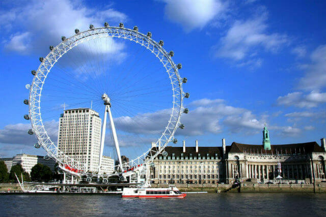 Le London Eye, une attraction à faire à Londres