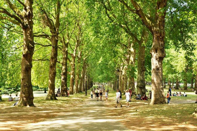 Quoi faire à Londres : se ballader dans les parcs