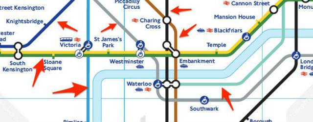 focus lignes metro londres