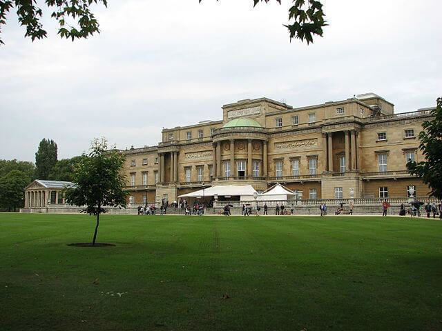 Buckingham Palace jardin