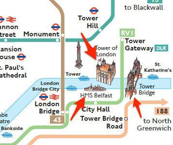 Plan Bus Londres Monuments Touristiques