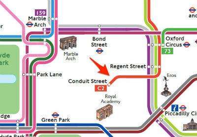 Plan Ligne Bus Londres
