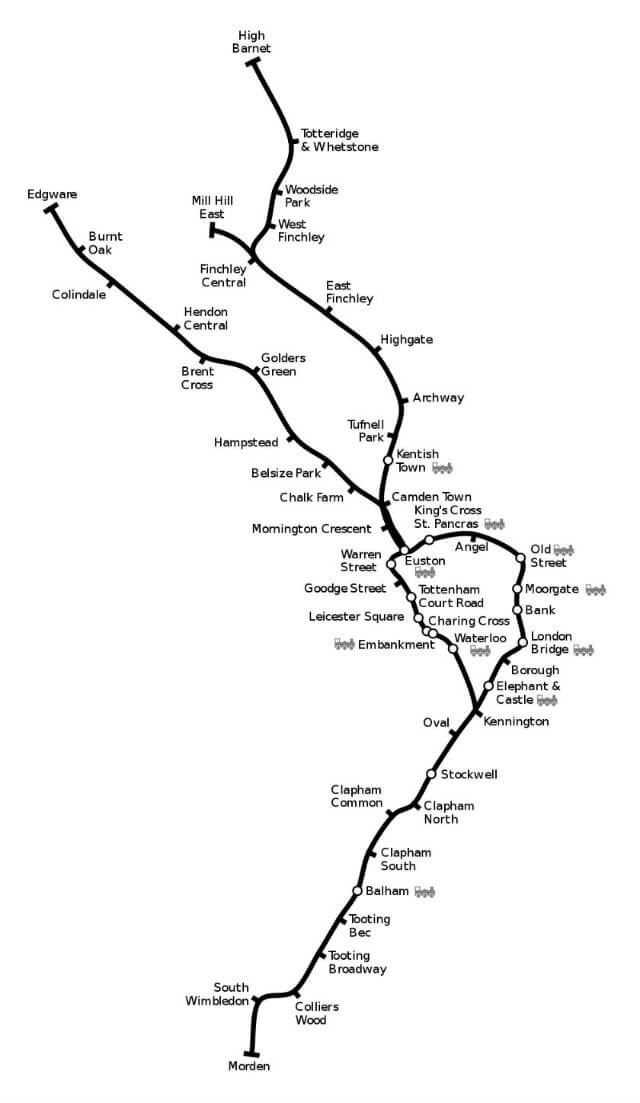 plan-metro-londres-northern-line