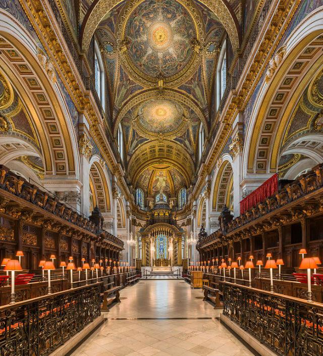 Choeur de la Cathédrale Saint Paul de Londres