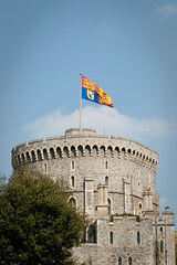 Windsor Castle Drapeau