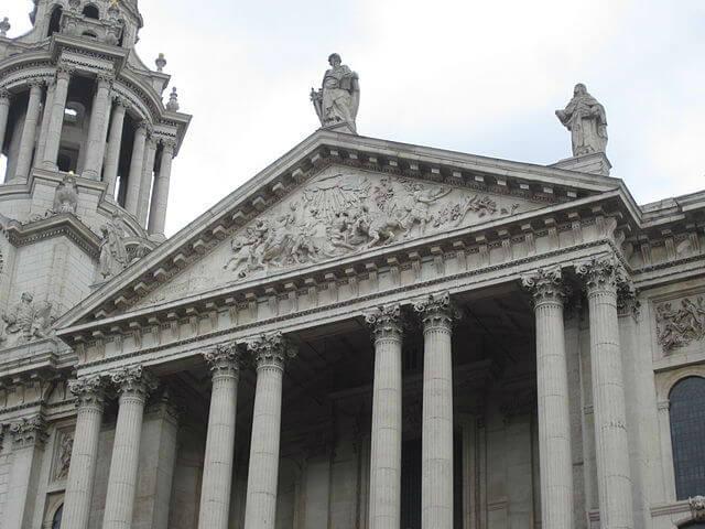 façade ouest Cathédrale Saint Pau