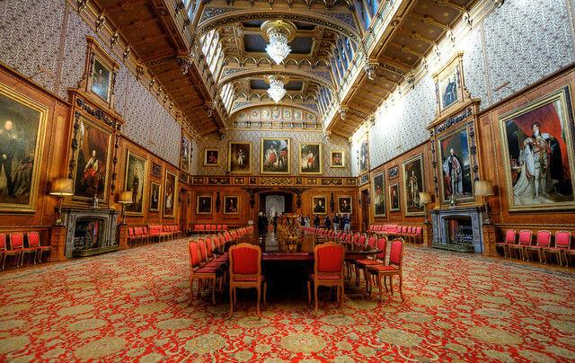 Waterloo Chamber Windsor Castle