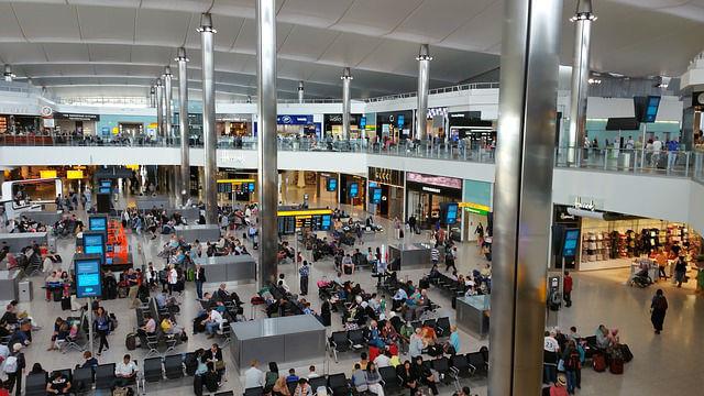 Hall Aéroport d'Heathrow