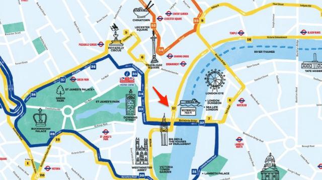 Plan Bus Touristique Big Ben