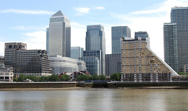 Quartier Canary Wharf Londres