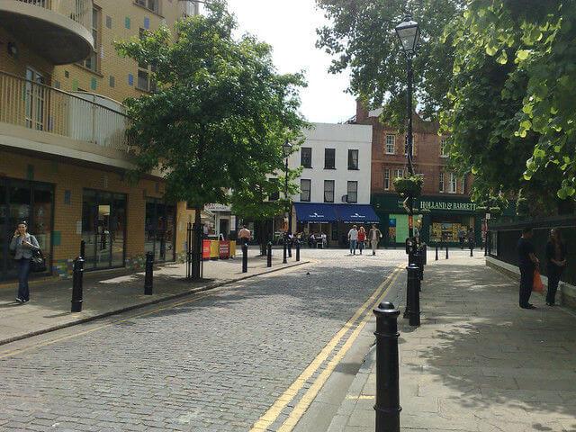 Quartier Fulham Londres