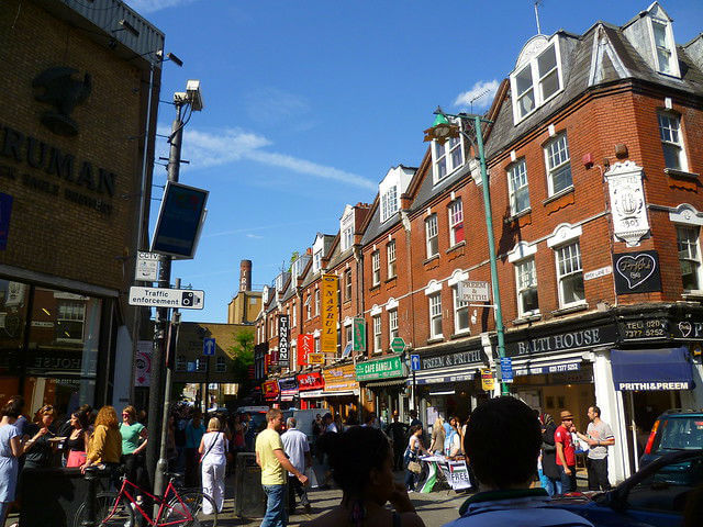 Quartier Indien Brick Lane Londres