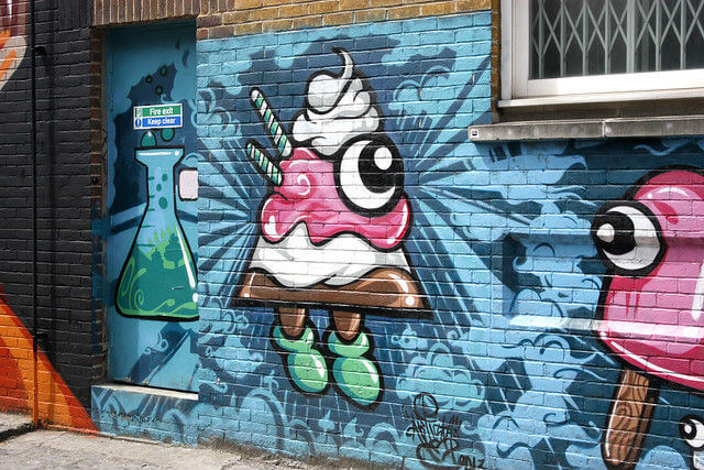 Quartier Street Art Shoreditch Londres