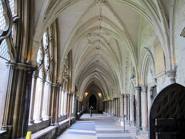 Cloître Abbaye Westminster