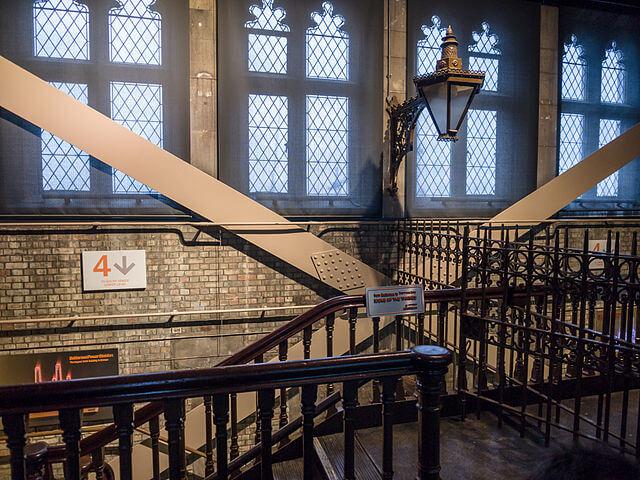 Intérieur Tour Tower Bridge