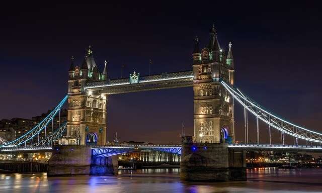Tower Bridge Nuit