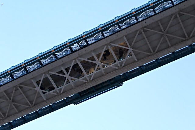 Sol en verre tower bridge