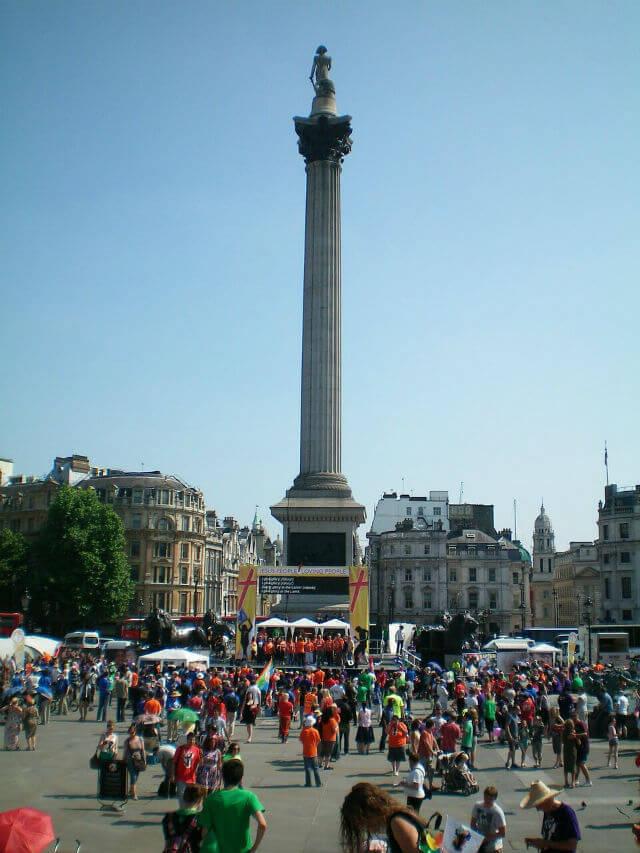 Colonne Nelson Trafalgar Square