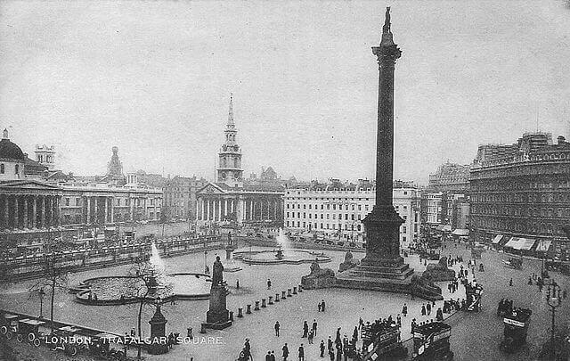 Trafalgar Square Histoire