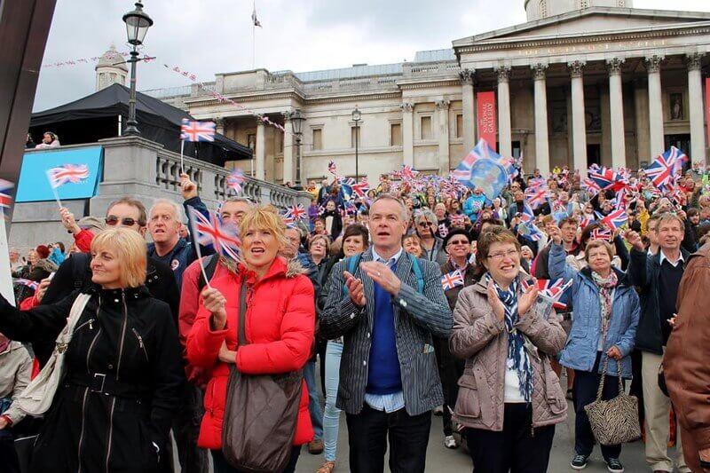 Trafalgar Square Manifestation