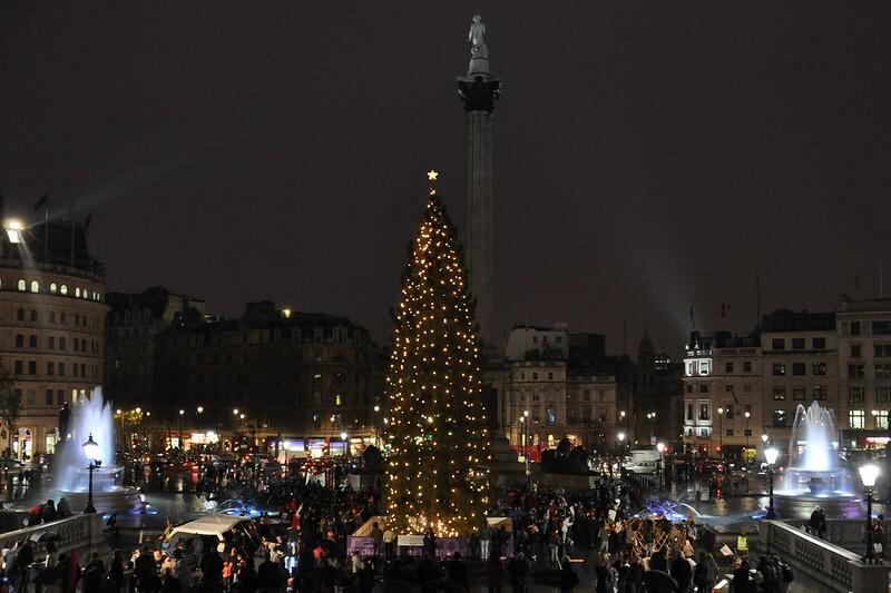 Trafalgar Square Sapin Noel