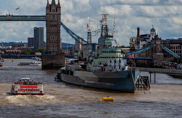 HMS Belfast bateau