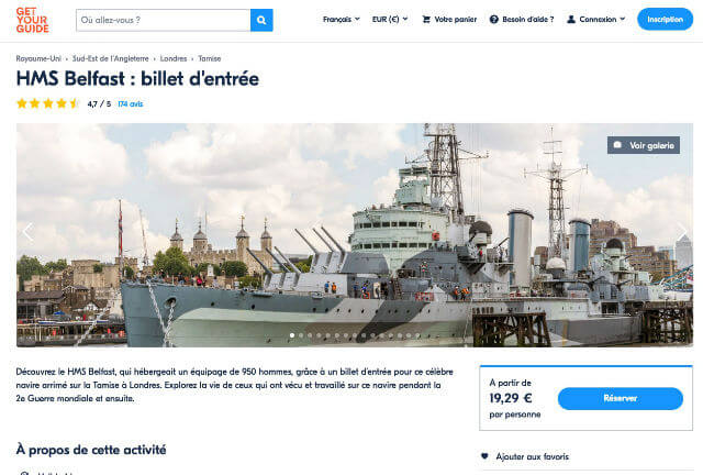 hms belfast billet ticket