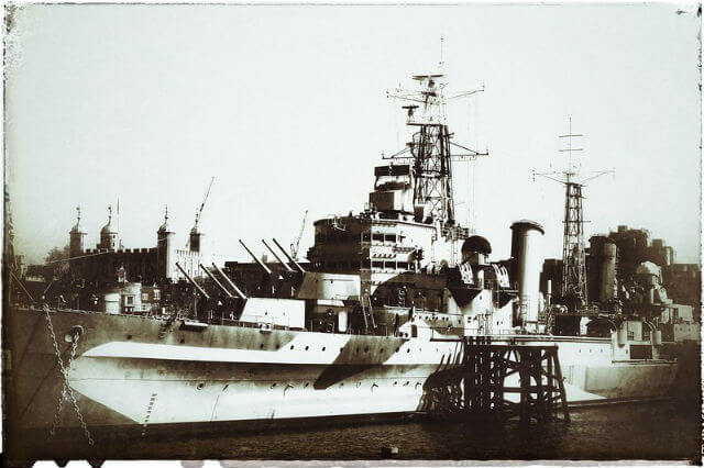 HMS Belfast Histoire