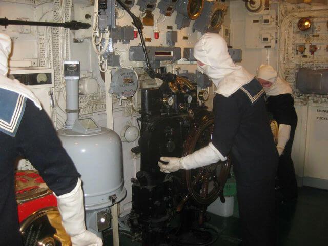 HMS Belfast interieur