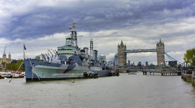 HMS Belfast Londres