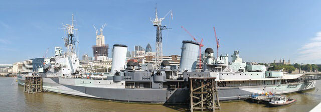HMS Belfast Dimension