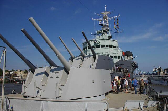 HMS Belfast Pont