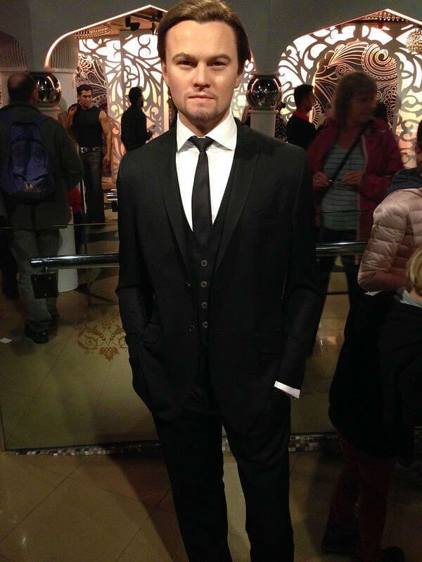 Personnage Leonardo Dicaprio Madame Tussaud Londres