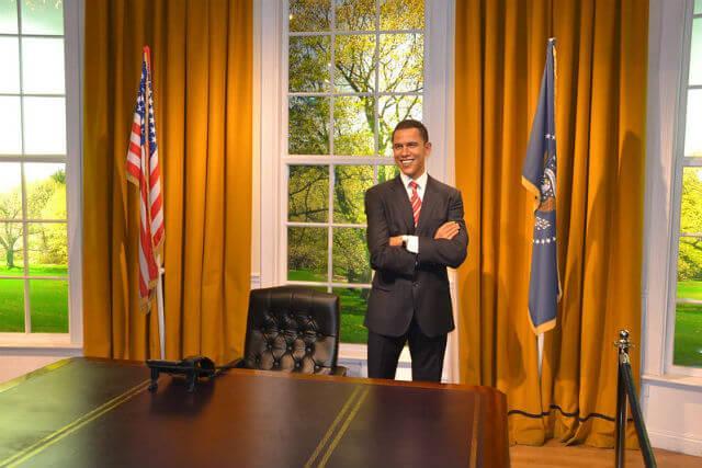 Barack Obama Personnage Madame Tussauds Londres