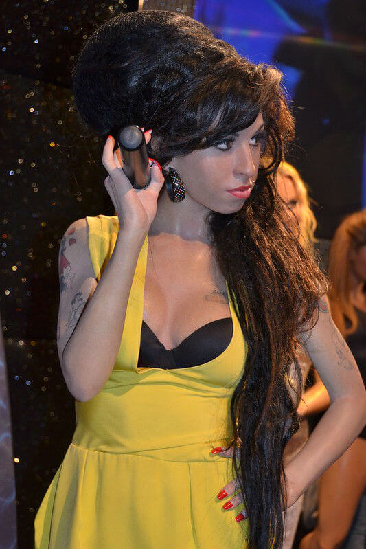 Amy Winehouse Personnage Madame Tussauds Londres