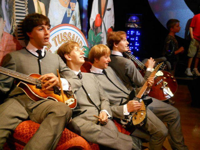 Les Beatles Personnages Madame Tussauds Londres