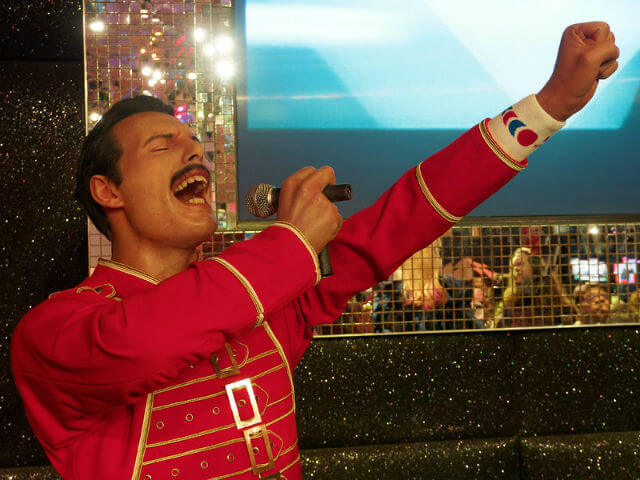 Freddie Mercury Personnage Musée cire Madame Tussauds