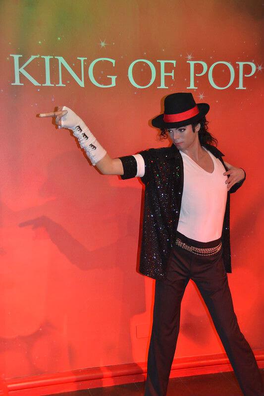 Mickael Jackson Personnage Madame Tussauds