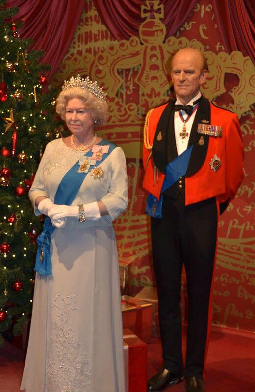 La Reine Elizabeth II Personnage Madame Tussauds