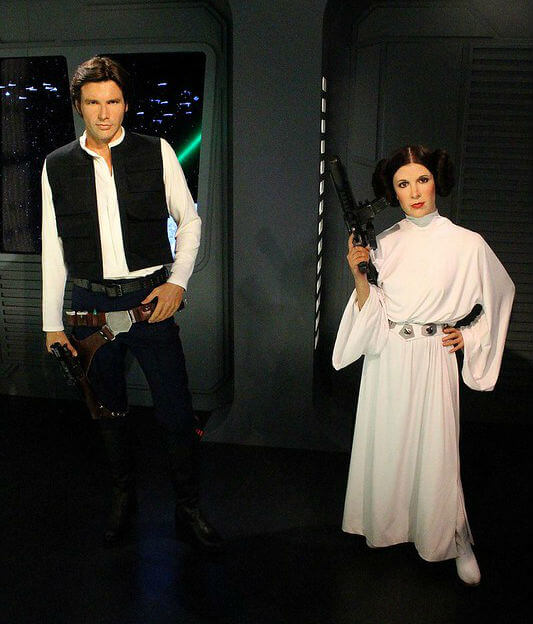 Star Wars Madame Tussauds Londres