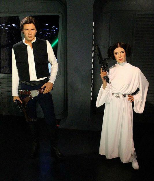Star Wars Madame Tussauds Londres