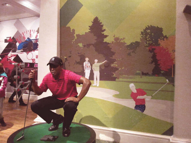 Tiger Woods Personnage Madame Tussauds