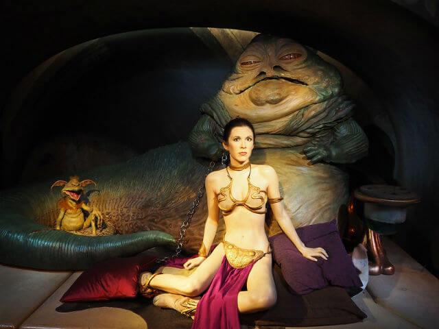 Prinesse Leia Star Wars Madame Tussauds