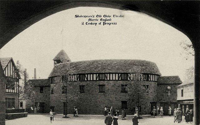 Shakespeare Globe Theatre Histoire