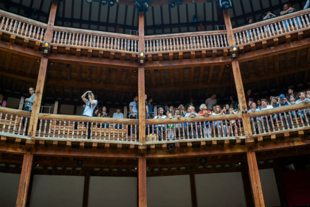 Shakespeare Globe Theatre Gradins