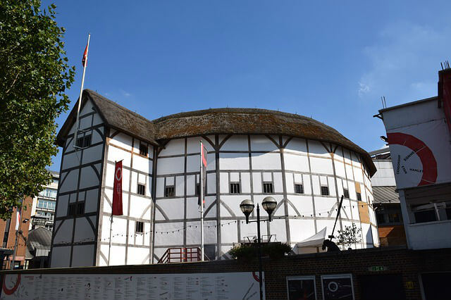 Exterieur Shakespeare Globe Theatre