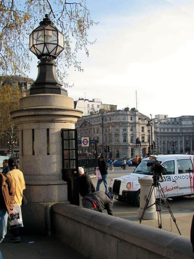 Trafalgar Square Poste Police