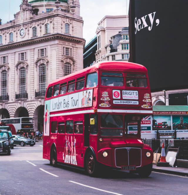 Bus Typique de Londres