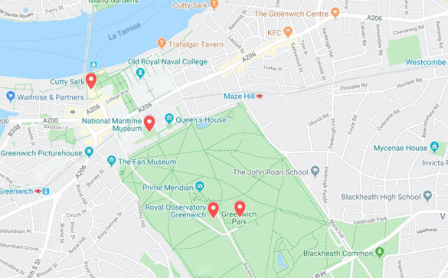 Croisière Greenwich